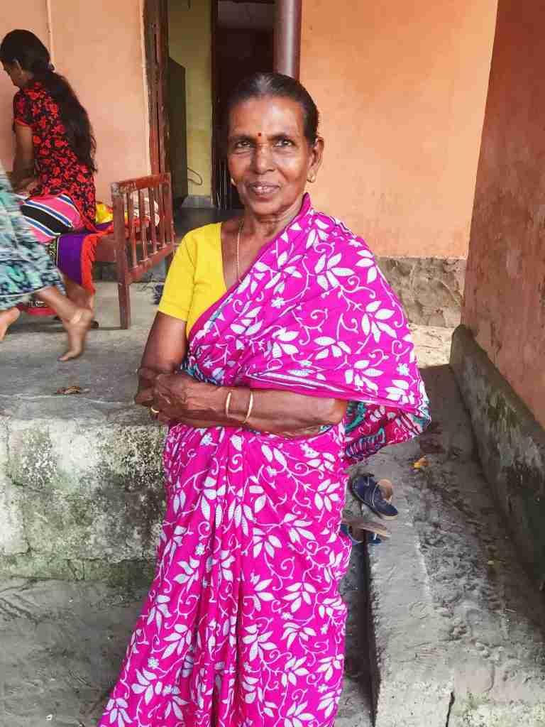אישה הודית בדרום הודו