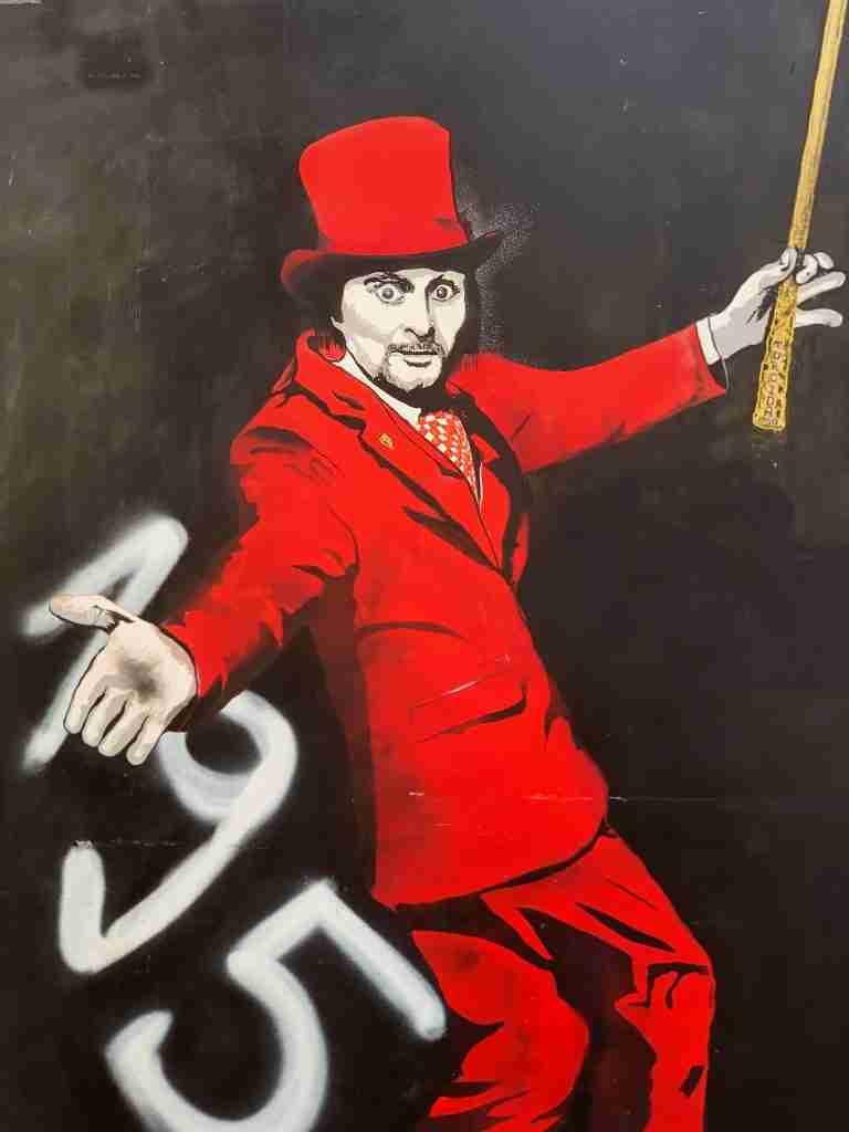 אומנות רחוב בספליט - גרפיטי