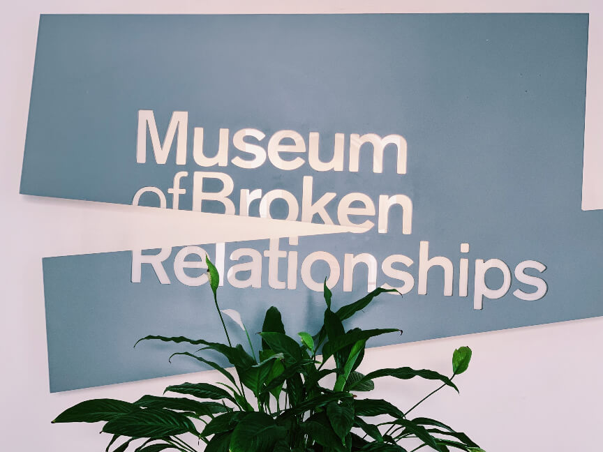 מוזיאון יחסים שבורים זאגרב