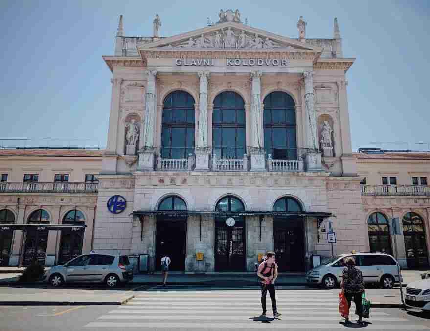 תחנת הרכבת המרכזית, זאגרב
