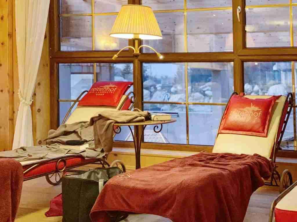 חדר מנוחה במלון Reiterhof גרמניה
