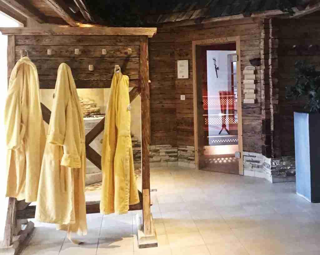 הספא במלון Alpina טירול אוסטריה