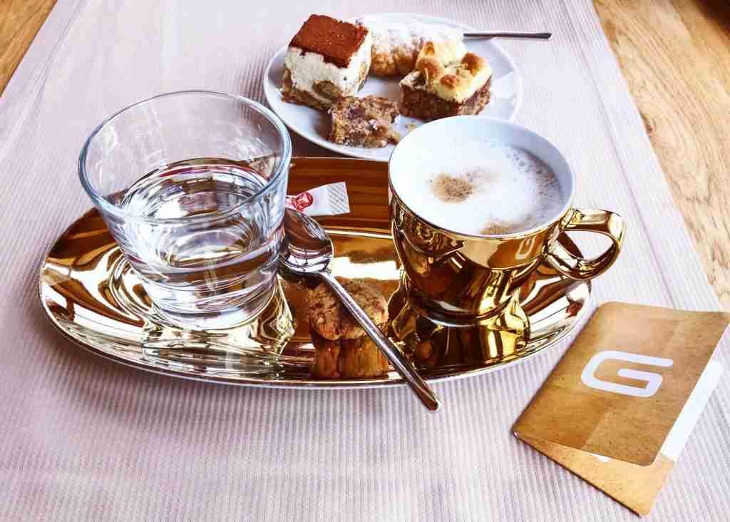 קפה בסטייל במלון Das Goldberg אוסטריה