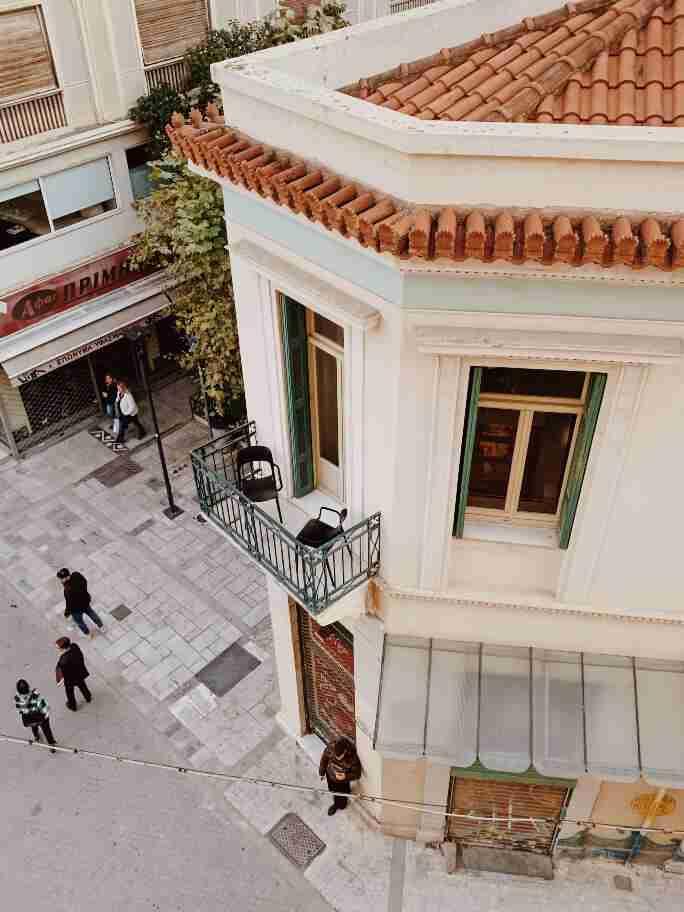 מלונות בוטיק באתונה - Blend Hotel מבט החוצה