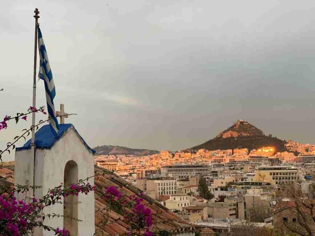 מבט לעבר אתונה