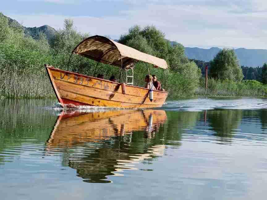 מונטנגרו - שייט באגם סקאדר