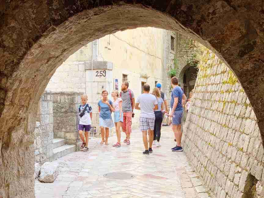 סימטאות העיר העתיקה קוטור