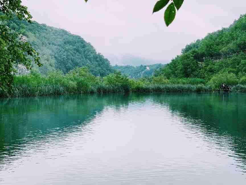 האגמים העליונים בשמורת פליטביצה