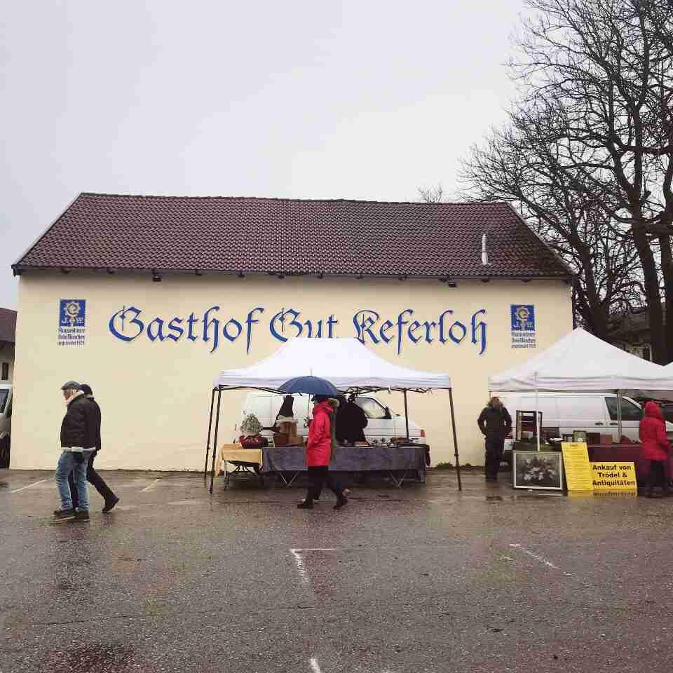שוק פשפשים Keferloh מינכן.