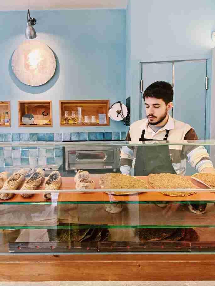 סיור קולינרי אתונה - מסעדת Feyrouz