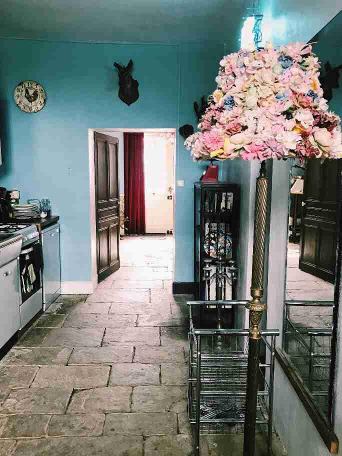 שאטו בצרפת - השאטו בבורבוול - המטבח