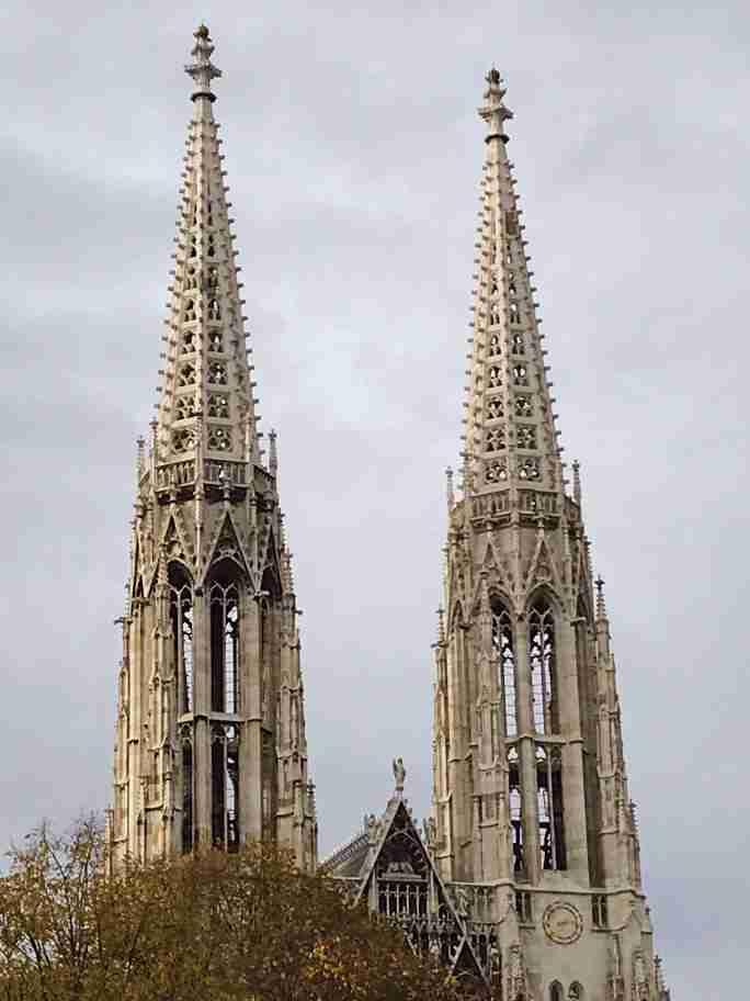 כנסיית ההודייה, וינה