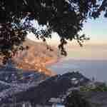 כחול של גלויה וצהוב של לימונצ'לו - דרום קסום באיטליה