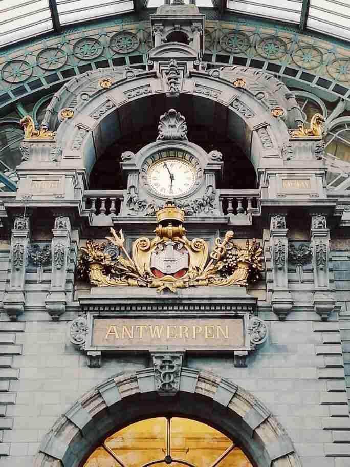 תחנת הרכבת המרכזית אנטוורפן