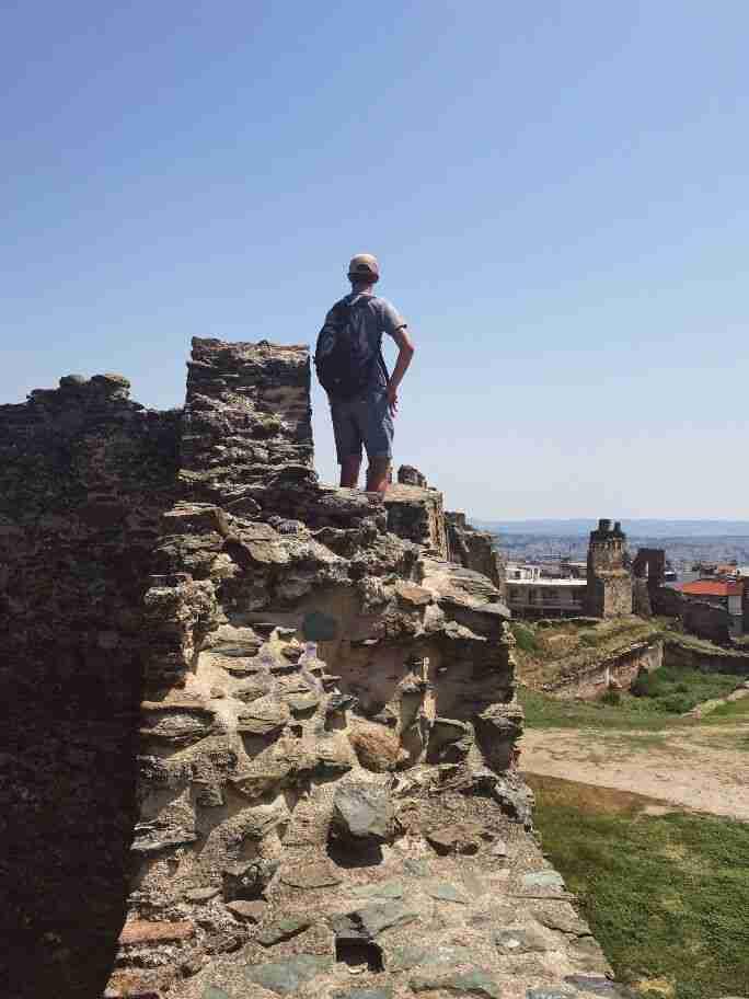 חומת העיר העתיקה, סלוניקי