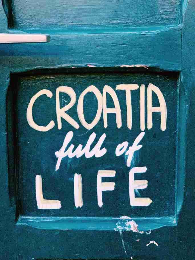 שלט רחוב, קרואטיה