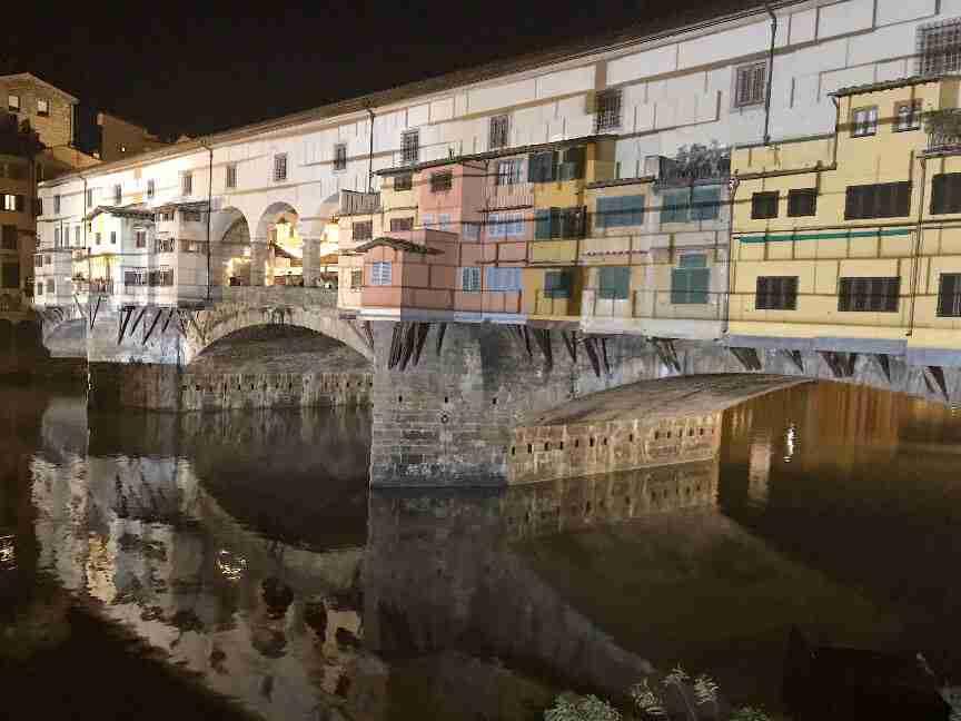 פירנצה - גשר פונטה וקיו