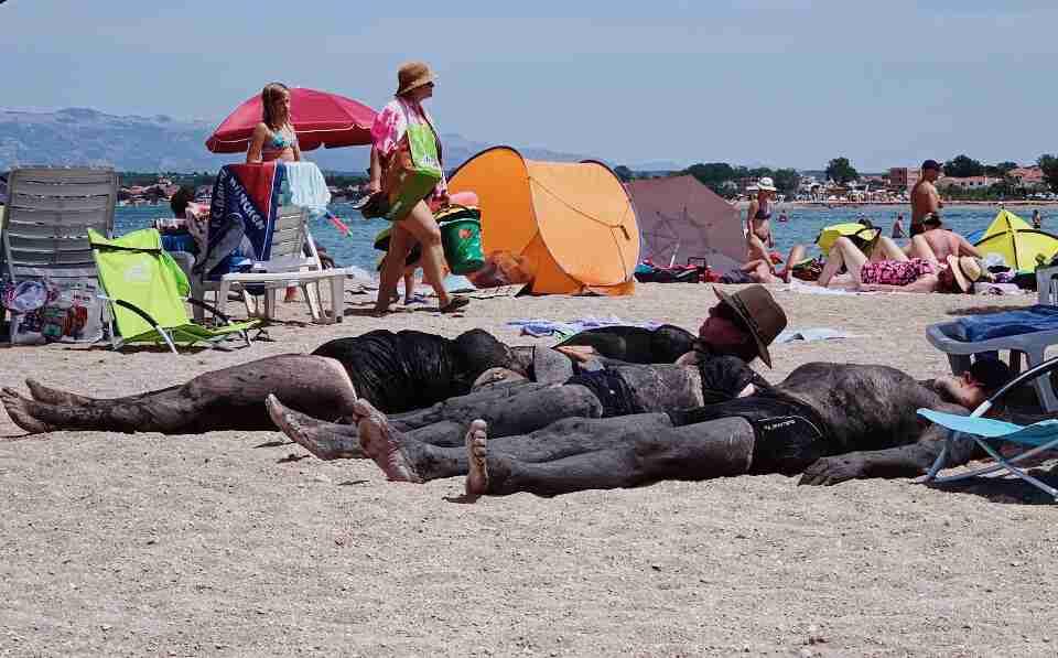 חוף הים של נין. חופשה משפחתית בקרואטיה