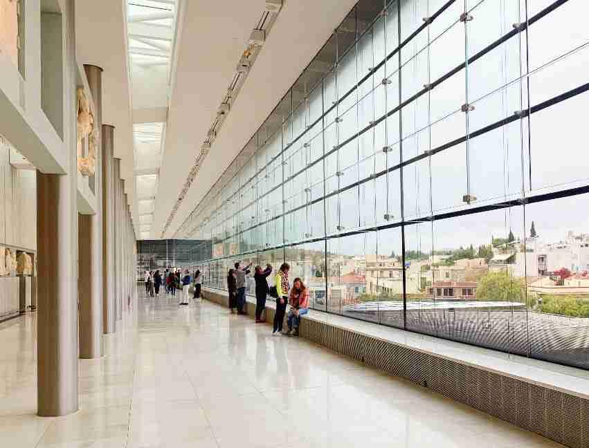 מוזיאון האקרופוליס, אטרקציות באתונה