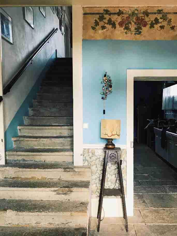 שאטו בצרפת - השאטו בבורבוול - המדרגות