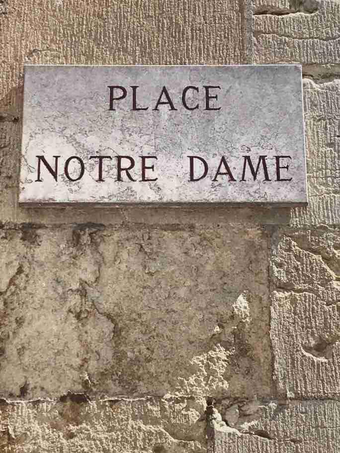 חופשה בצרפת - רחוב נוטרדם, דיז'ון