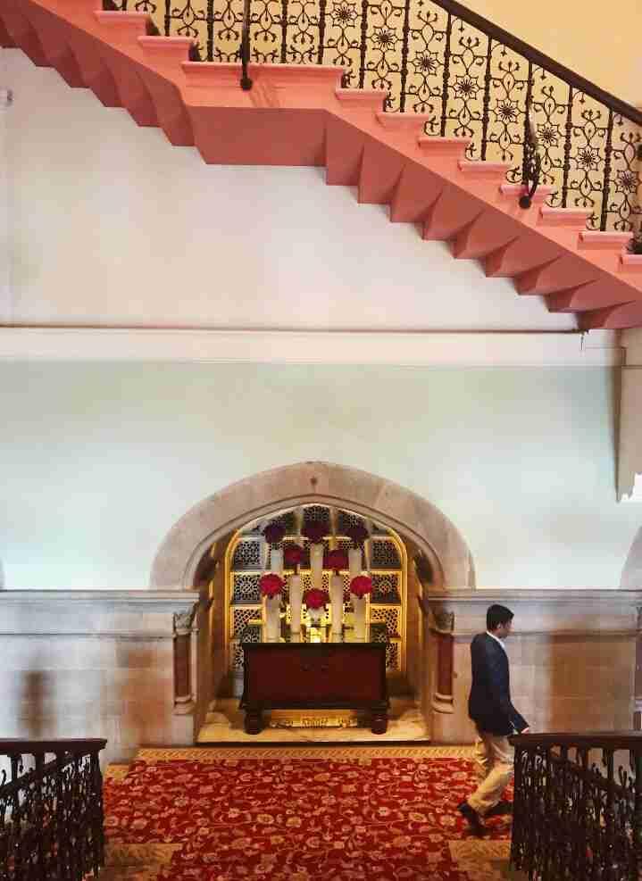 ארכיטקטורה מרשימה במלון הטאג' מאהל, מומבאי