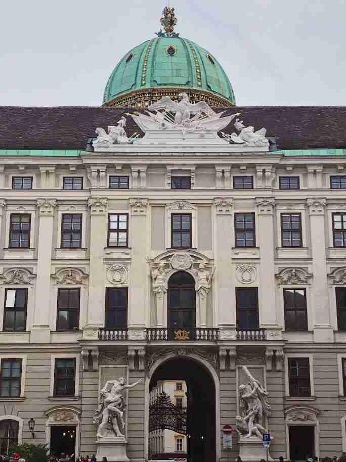 ארמון הופבורג - וינה עם ילדים