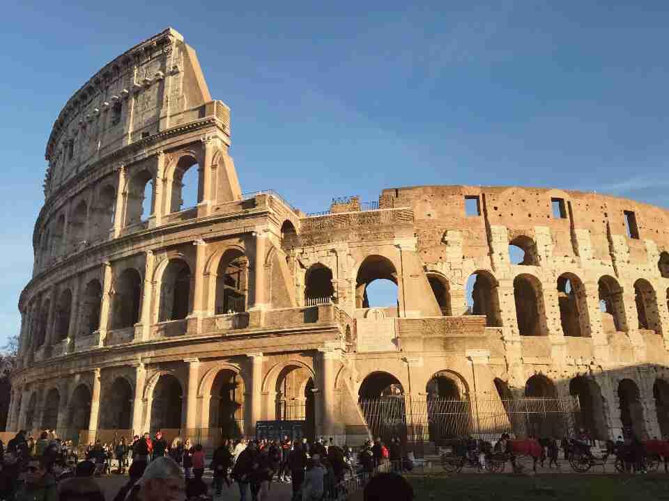 חופשה ברומא - הקולוסיאום, רומא