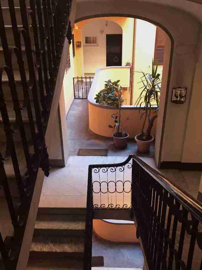 חופשה ברומא - הדירה בה ישנו, רומא