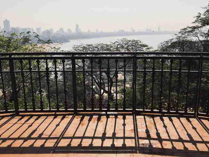 הנוף מטיילת הגנים התלויים, מומבאי