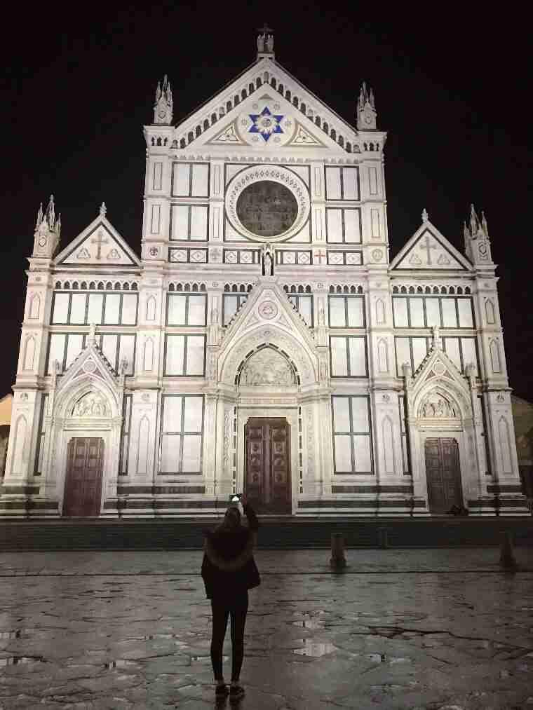 פירנצה - כנסיית סנטה קרוצ'ה