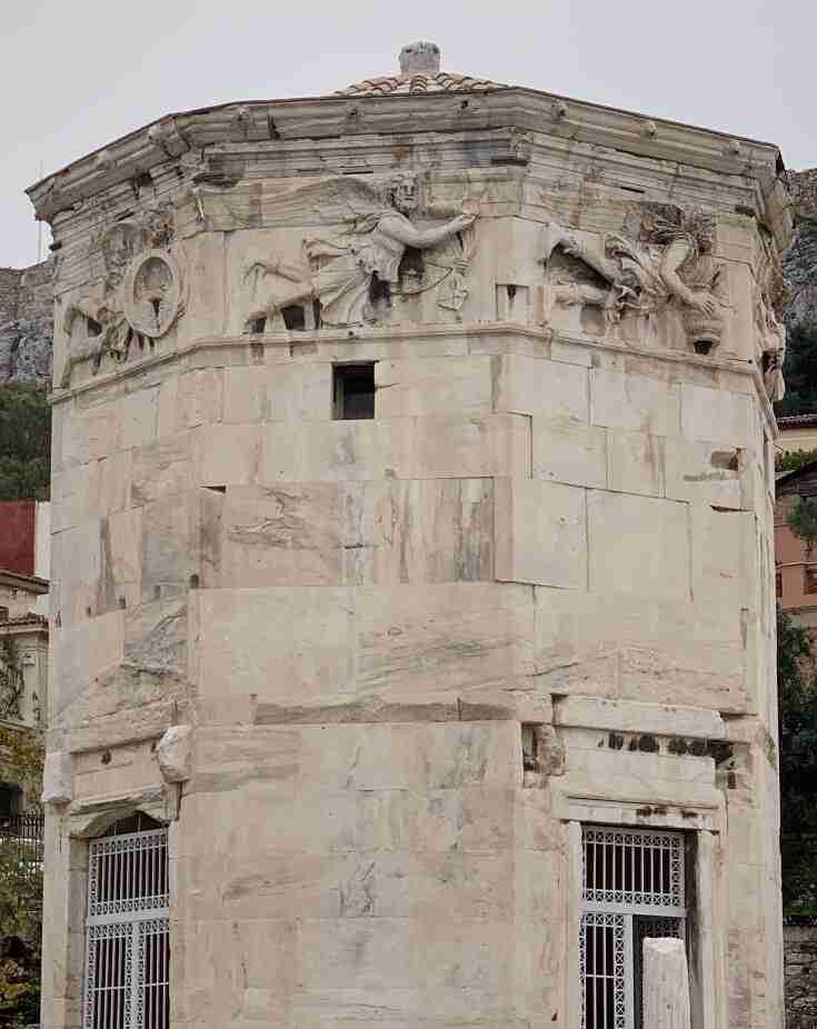 מגדל הרוחות, אתונה