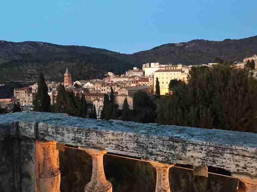 מבט לעבר טיבולי - חופשה ברומא