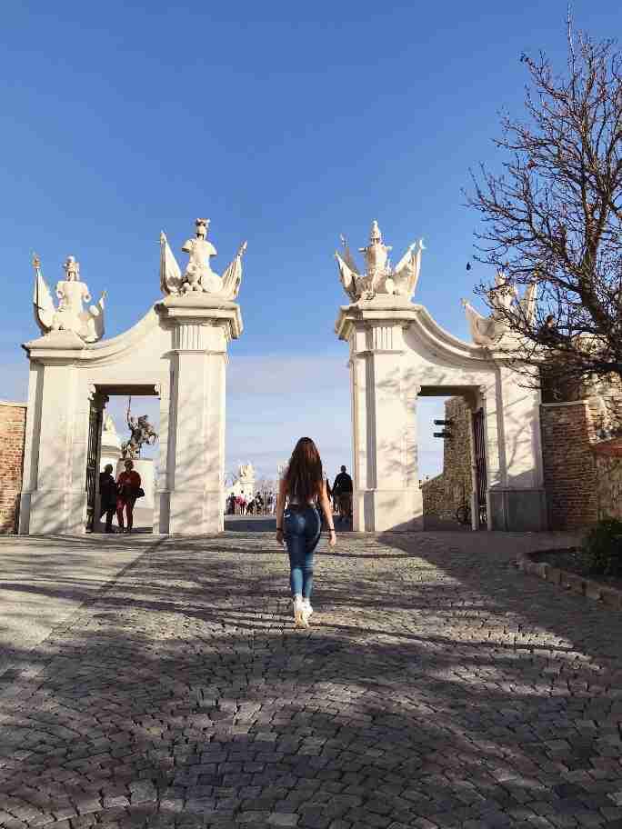 הכניסה לטירה של ברטיסלבה, סלובקיה