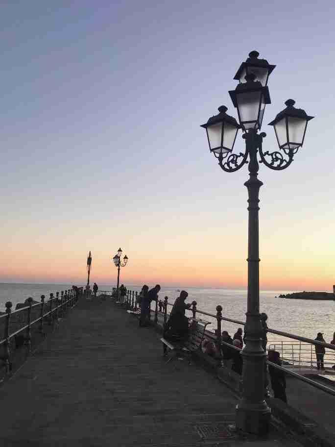 המזח של אמלפי, דרום איטליה