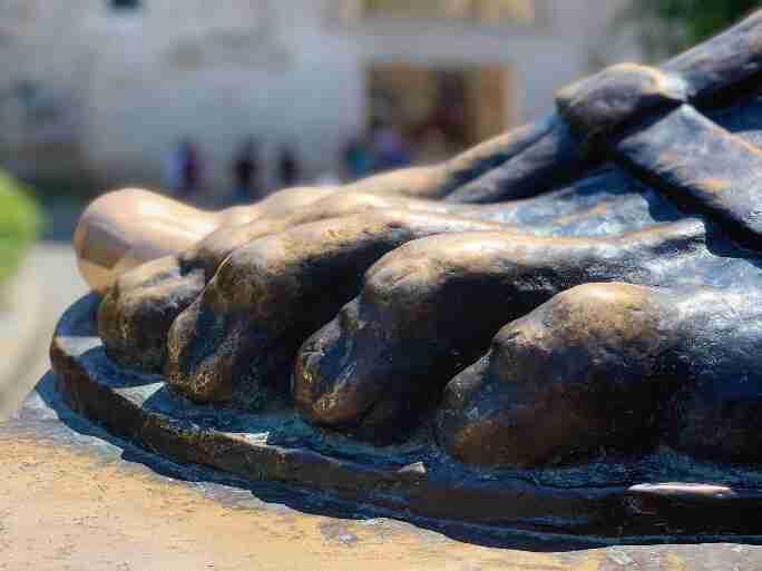 פסל הבישוף גרגורי מנין, ספליט