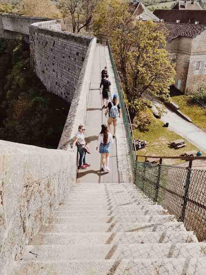חופשה בצרפת - מצודת בזאנסון.