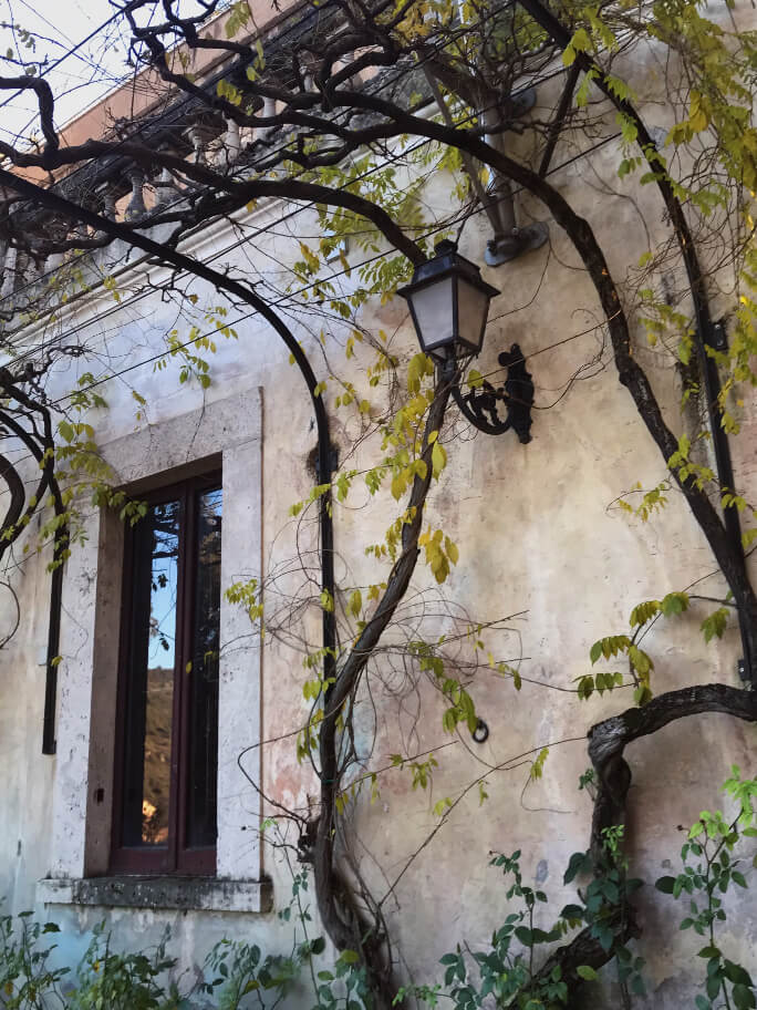 Villa d'Este, חופשה ברומא