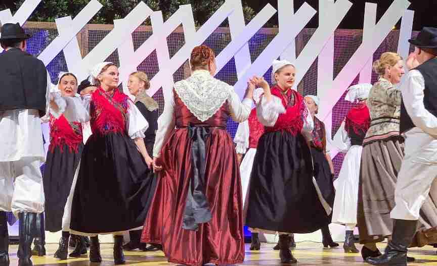 ריקוד מסורתי בזאדאר, קרואטיה