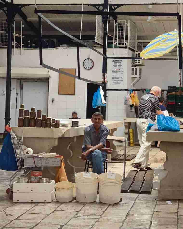 שוק הדגים של ספליט