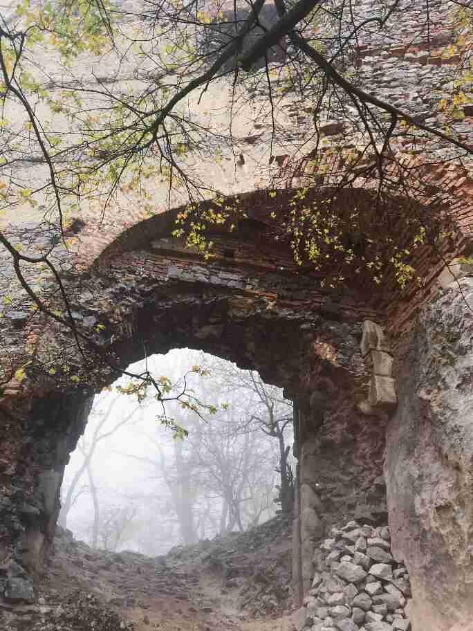 שרידי מצודת Pajstun, סלובקיה