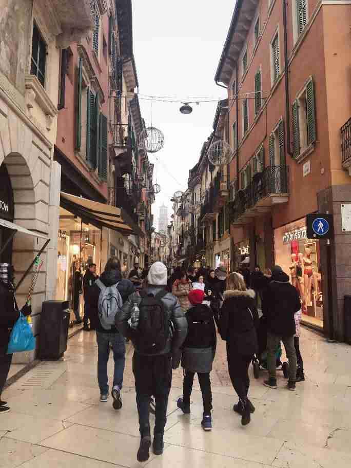 ורונה - מדרחוב Mazzini