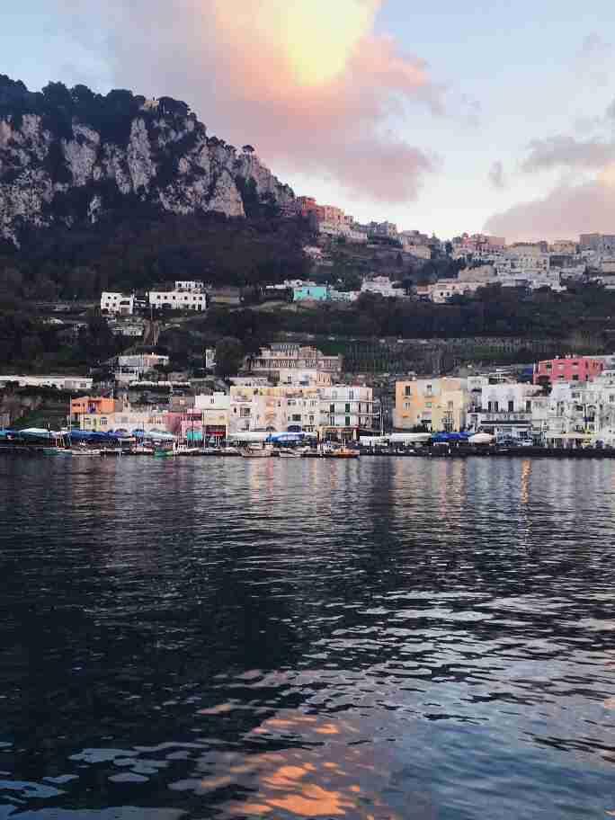 קאפרי דרום איטליה