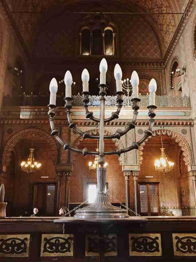 מבט לתוך בית הכנסת הגדול, פירנצה