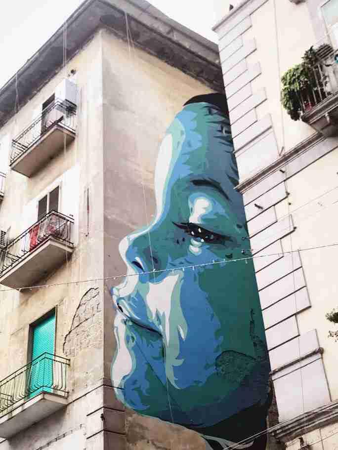 נאפולי - אמנות רחוב