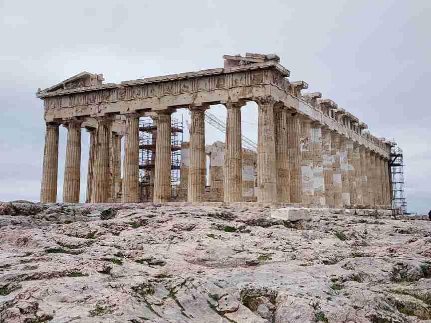 הפרתנון באקרופוליס באתונה