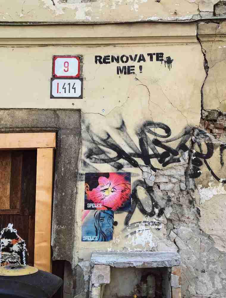 אמנות רחוב, ברטיסלבה, סלובקיה