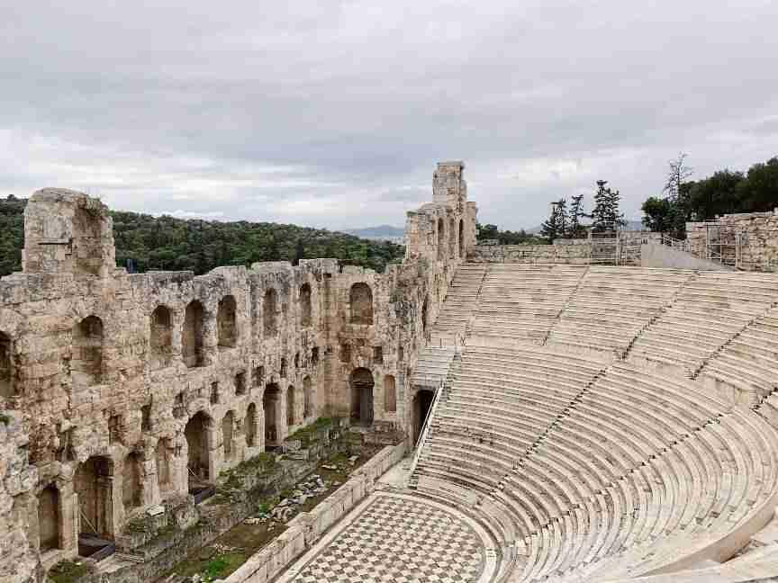 תיאטרון דיוניסוס, אתונה
