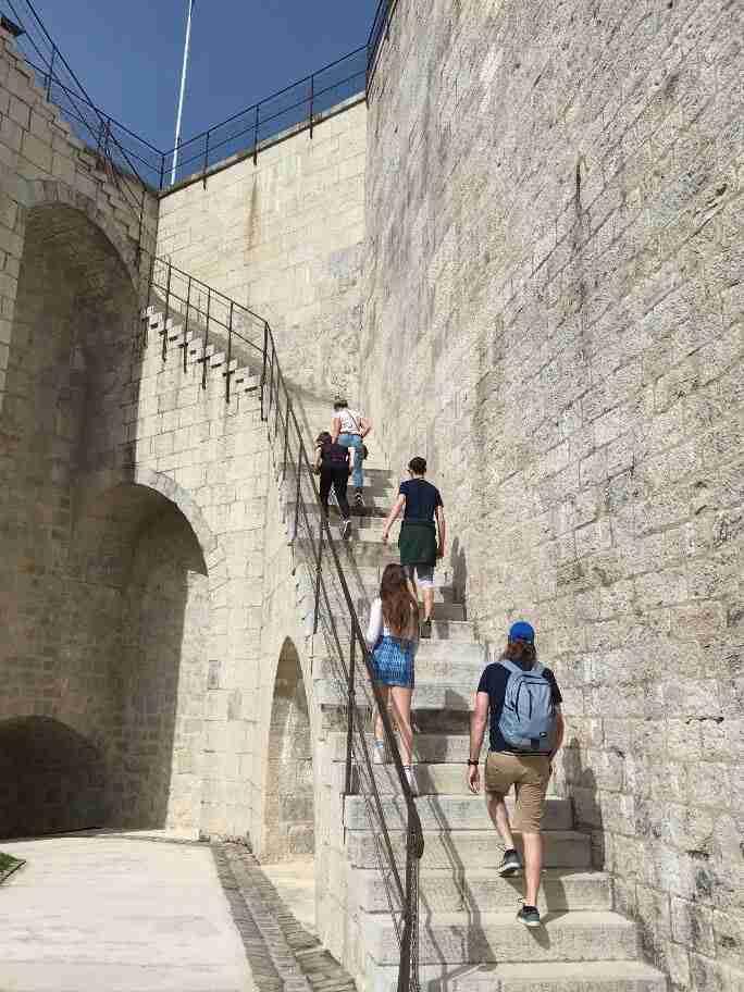 חופשה בצרפת - מצודת בזאנסון