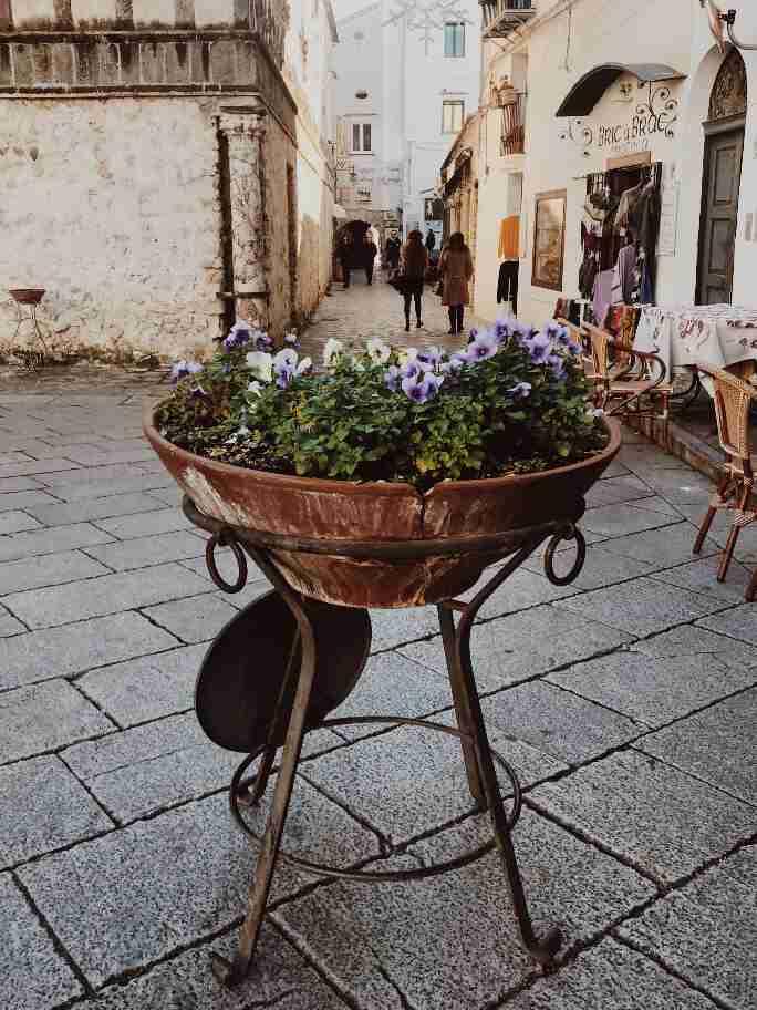 פיאצה דואו, ראוולו, דרום איטליה